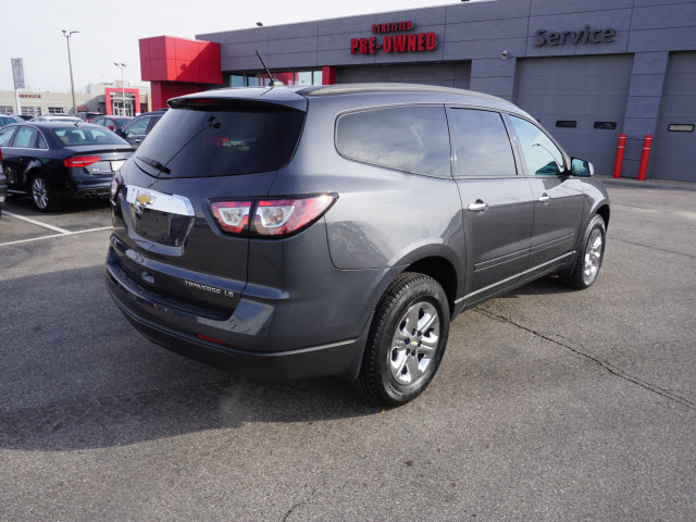 Certified Pre-Owned 2014 Chevrolet Traverse LS