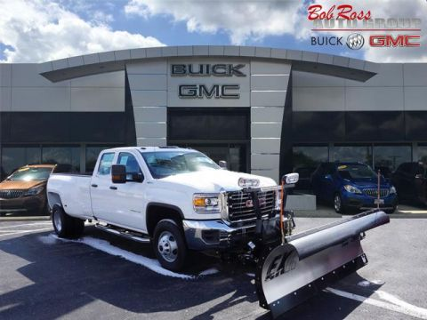 New 2018 GMC Sierra 3500HD DRW
