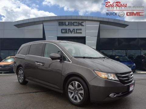 Pre-Owned 2017 Honda Odyssey Touring